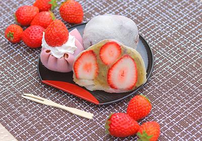 日本一のいちご狩り体験第二弾!究極の「新鮮いちご大福」体験