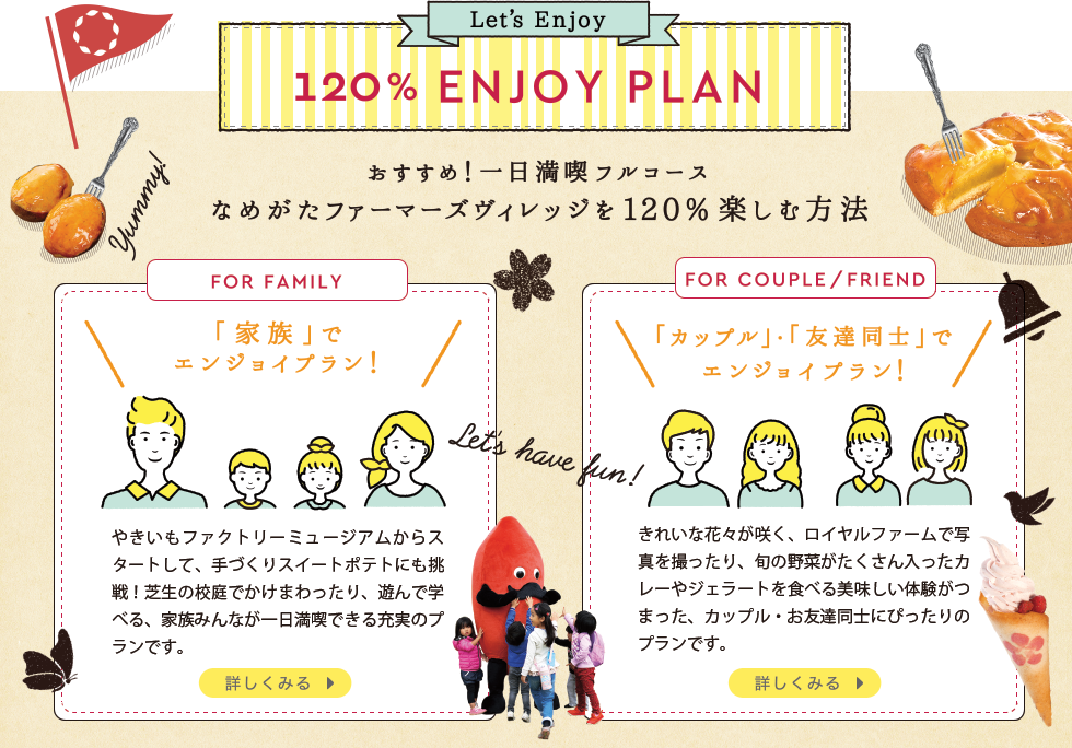 120% ENJOY PLAN